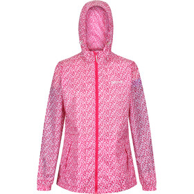 Regatta Printed Pack-It Jakke Damer, pink/hvid